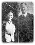 高橋三郎氏の所蔵していたユーハイム夫妻の写真。