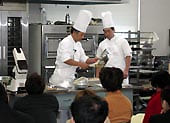 洋菓子製造の技術指導